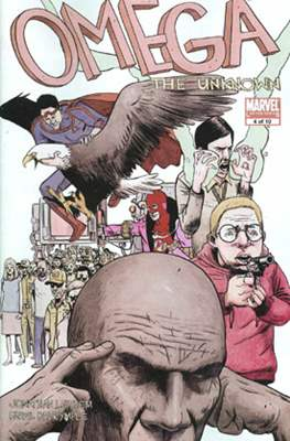 Omega The Unknown Vol. 2 (comic book) #4