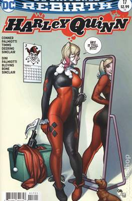 Harley Quinn Vol. 3 (2016-... Variant Cover) (Comic Book) #17