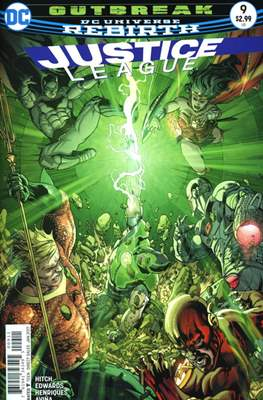 Justice League Vol. 3 (2016-2018) (Comic-book) #9