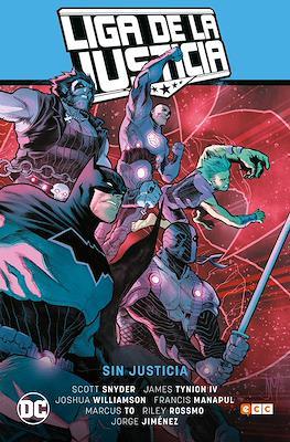 Liga de la Justicia de Scott Snyder (Cartoné 144 pp) #1