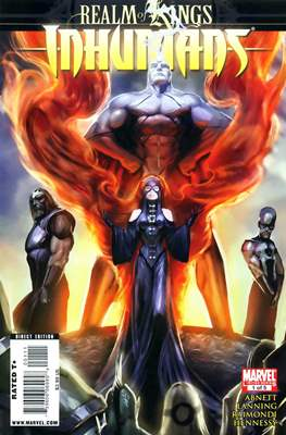 Realm of Kings: Inhumans (Comic Book) #1