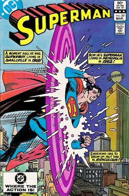 Superman Vol. 1 / Adventures of Superman Vol. 1 (1939-2011) (Comic Book) #381