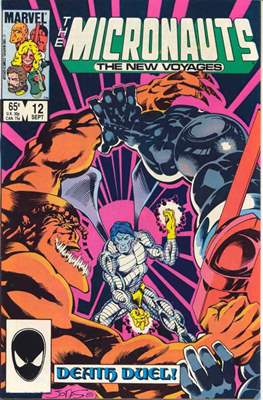 The Micronauts The New Voyages (Comic Book) #12