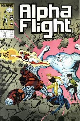 Alpha Flight Vol. 1 (1983-1994) (Comic Book) #61