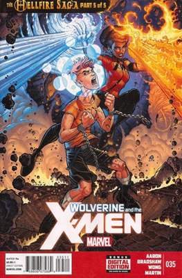 Wolverine and the X-Men Vol. 1 (Comic-Book) #35