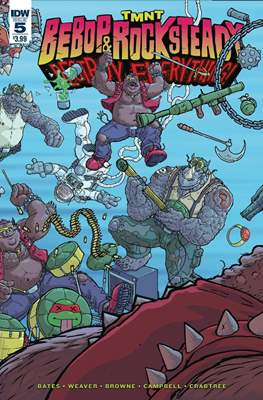 TMNT: Bebop & Rocksteady Destroy Everything (Comic book / Digital) #5