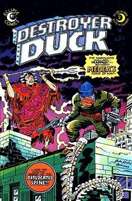 Destroyer Duck (Comic Book. 1982) #2