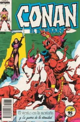 Conan el Bárbaro (1983-1994) (Grapa. 19x27. 36/32/24 páginas. Color.) #37