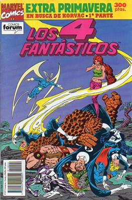 Los 4 Fantásticos Vol. 1. Especiales (1983-1994) (Grapa 64 pp) #4