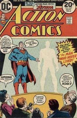 Action Comics Vol. 1 (1938-2011; 2016-) (Comic Book) #427