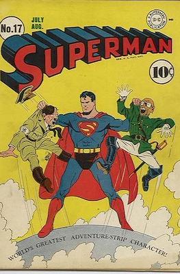 Superman Vol. 1 / Adventures of Superman Vol. 1 (1939-2011) (Comic Book) #17
