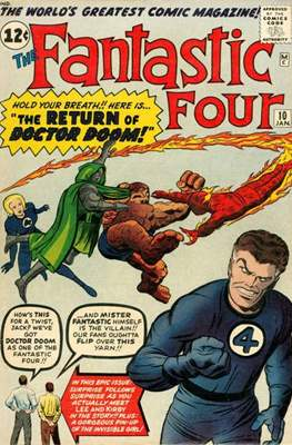 Fantastic Four Vol. 1 (1961-1996) #10