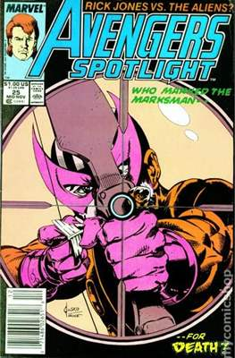 Solo Avengers / Avengers Spotlight (Comic book) #25