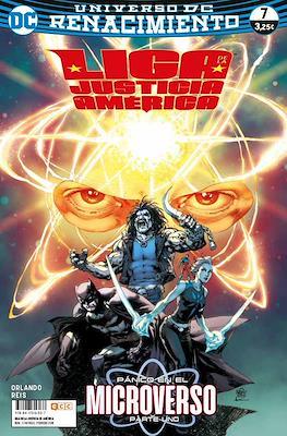 Liga de la Justicia de América. Renacimiento #7