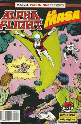 Alpha Flight Vol. 1 / Marvel Two-in-one: Alpha Flight & La Masa Vol.1 (1985-1992) (Grapa 32-64 pp) #39