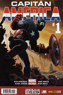 Capitán América Vol. 8 (2011-) (Grapa) #26