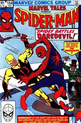 Marvel Tales (Comic Book) #154