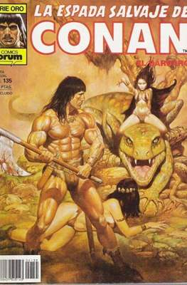 La Espada Salvaje de Conan. Vol 1 (1982-1996) (Grapa. B/N.) #135