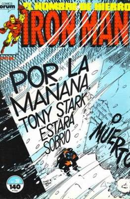 Iron Man Vol. 1 / Marvel Two-in-One: Iron Man & Capitán Marvel (1985-1991) (Grapa, 36-64 pp) #31
