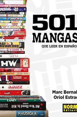501 mangas que leer en español (Cartoné con sobrecubierta) #
