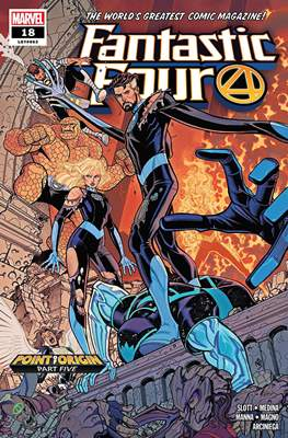 Fantastic Four Vol. 6 (2018-...) (Comic Book) #18