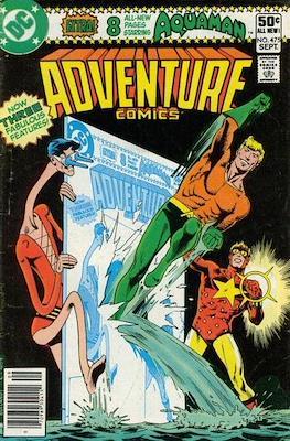 New Comics / New Adventure Comics / Adventure Comics (1935-1983; 2009-2011) (Saddle-Stitched) #475