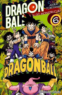 Dragon Ball Color: Saga del Monstruo Bû (Rústica con sobrecubierta) #6
