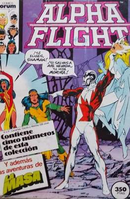 Alpha Flight (Vol. 1) (Retapado Rústica) #2