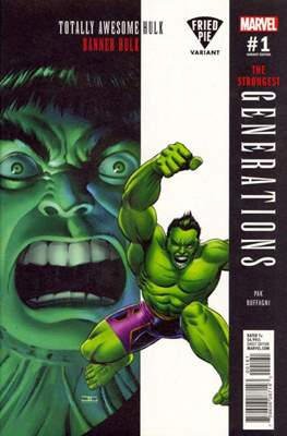 Generations - The Strongest Banner Hulk and Totally Awesome Hulk (Variant Cover) #1.6