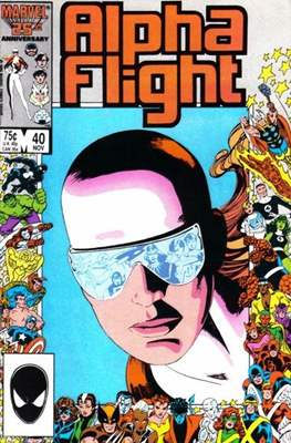 Alpha Flight Vol. 1 (1983-1994) (Comic Book) #40