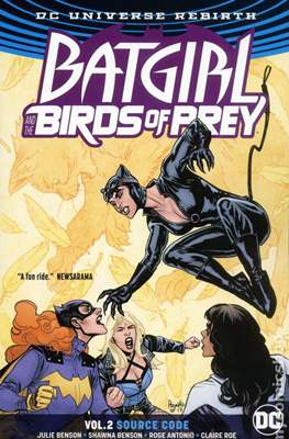 Batgirl and the Birds of Prey Vol. 1 (2016-) (Softcover) #2