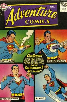 New Comics / New Adventure Comics / Adventure Comics (1935-1983; 2009-2011) (Saddle-Stitched) #248