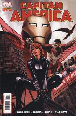 Capitán América Vol. 7 (2005-2011) (Grapa) #33