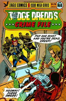 Judge Dredd's Crime File (Comic Book 32 pp) #6