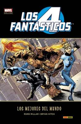 Los 4 Fantásticos de Millar y Hitch. Marvel Deluxe (Cartoné 256-264 páginas.) #1