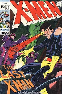 The Uncanny X-Men (1963-2011) (Comic-Book) #59