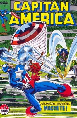 Capitán América Vol. 1 / Marvel Two-in-one: Capitán America & Thor Vol. 1 (1985-1992) (Grapa 32-64 pp) #47