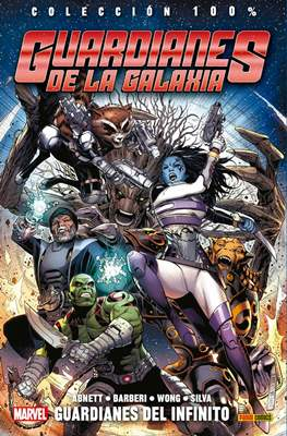 Guardianes de la Galaxia: Guardianes del Infinito. 100% Marvel