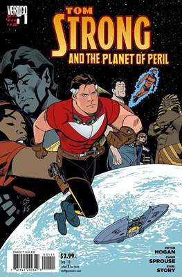 Tom Strong and the Planet of Peril (Grapa) #1