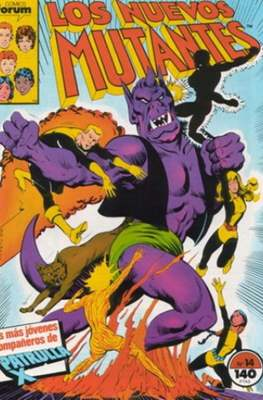 Los Nuevos Mutantes Vol. 1 (1986-1990) (Grapa 32-64 pp) #14