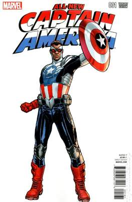 All-New Captain America (Variant Cover) #1.3