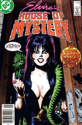 Elvira's House of Mystery (Comic-book) #1