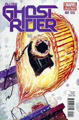 All New Ghost Rider (2014-2015 Variant Covers) (Comic Book) #1.2