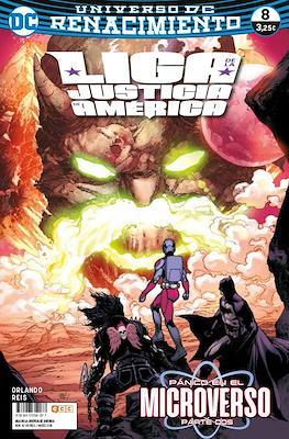 Liga de la Justicia de América. Renacimiento #8