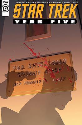 Star Trek: Year Five (Comic Book) #12