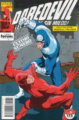 Daredevil Vol. 2 (1989-1992) (Grapa 32 pp) #31