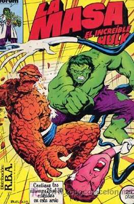 La Masa. El Increíble Hulk (Retapado 1ª Etapa. 180 páginas) #6