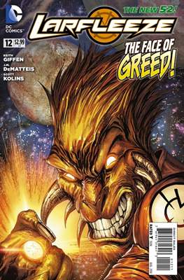 Larfleeze (2013-2014). The New 52 (Grapa) #12