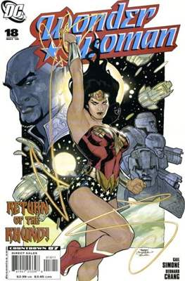 Wonder Woman Vol. 3 (2006-2011) (Comic Book) #18