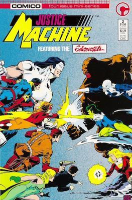 Justice Machine Featuring The Elementals (Comic Book) #2